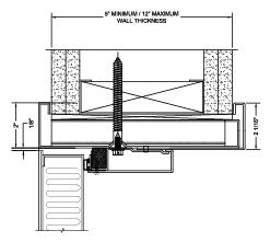 STC SCIF Door Diagram